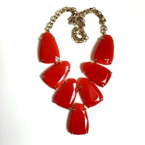 Kendra Scott Translucent Red Harlow